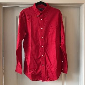 EUC Croft & Barrow Red Dress Shirt